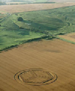 Recent Crop Circle, Wiltshire, UK